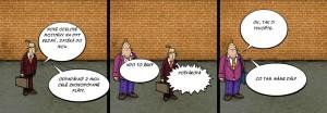 Komiks Řešení alá ŘSD