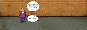 Komiks Mluvit je ztrata casu