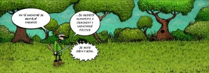 Komiks Ukrajinske paradoxy