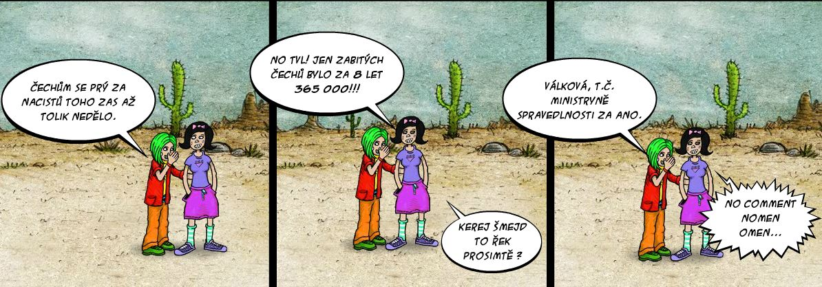 Komiks ano valkova spravedlnost