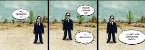 Komiks Okresni tajemnik KSC se neomlouva