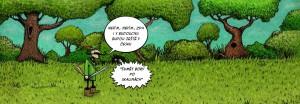 Komiks Budou sumet bory po skalinach