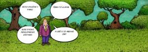 Komiks Divocina misto divociny
