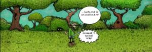 Komiks Jak vesti kone