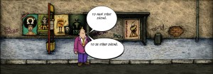 Komiks Stred zajmu