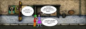 Komiks V Průhonicích po volbách