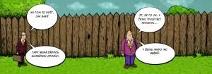 Komiks Česko je bezproblémová země