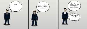 Komiks Slepa spravedlnost v GIBSu