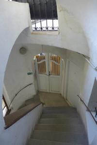 Schodiště v obytném domě v Celetné 8