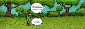 Zakon lasky v Narodnim parku Sumava