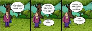 Komiks Manek se na Sumave vyznamenal