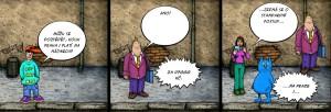 Komiks Standardni postupy na Praze 1