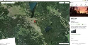 Sumava Jezero mapa aktualni podoba