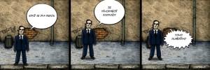 Komiks Čina v Praze