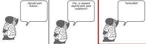 Komiks Pane redaktore vite co znamena anglicky