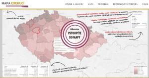 mapa exekuci